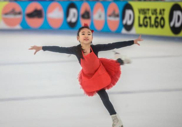 Skate Malaysia showcases young ice skating talent