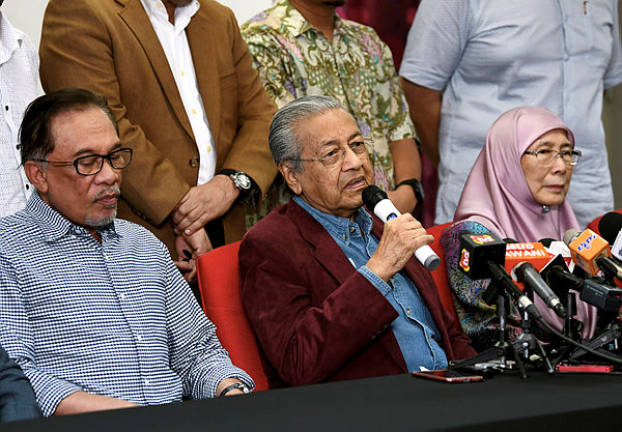 PH components working together well: Dr Mahathir
