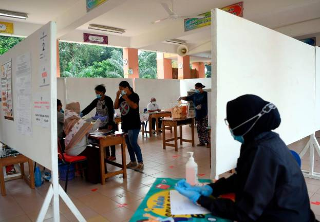 Polling ends in Chini by-election
