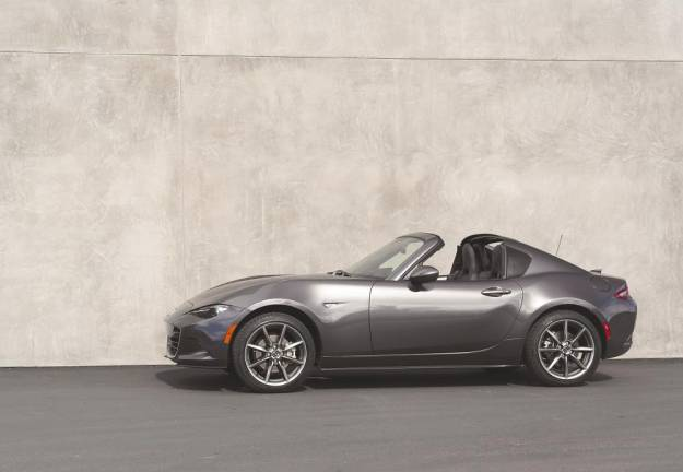 Mazda MX-5 RF updated