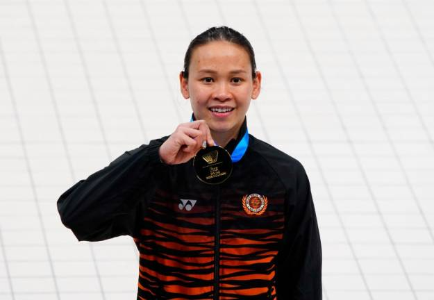 Pandelela wins gold at diving World Cup (Updated)