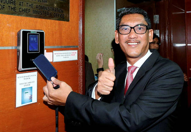 Perak MB should be commended for handling of scandals