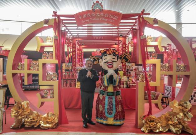 A spectacular CNY countdown at Genting Highlands