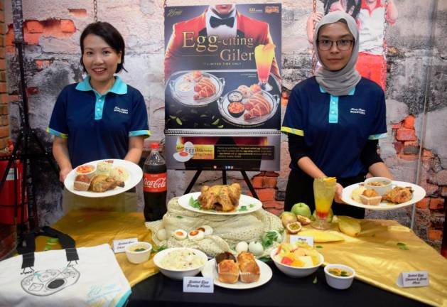 Kenny Rogers Roasters unveils 'eggs-plosion' in new meal
