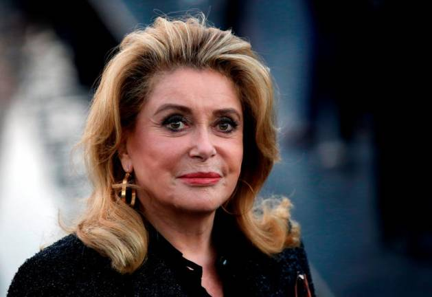 French star Deneuve hospitalised