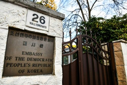 North Korea's acting ambassador to Rome is said to be seeking asylum. — AFP