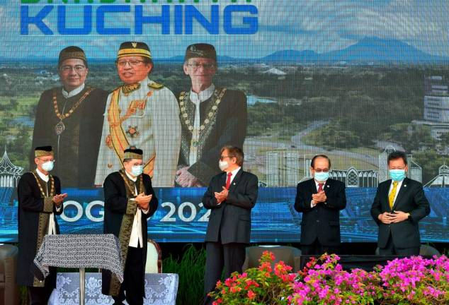 Five-year transformation master plan for Kuching: Chief Minister