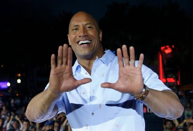 Dwayne Johnson is Forbes' best paid actor