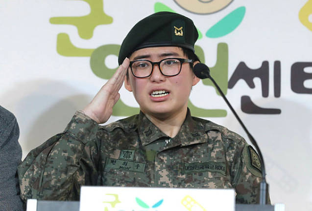 South Korean transgender soldier pleads to stay in army