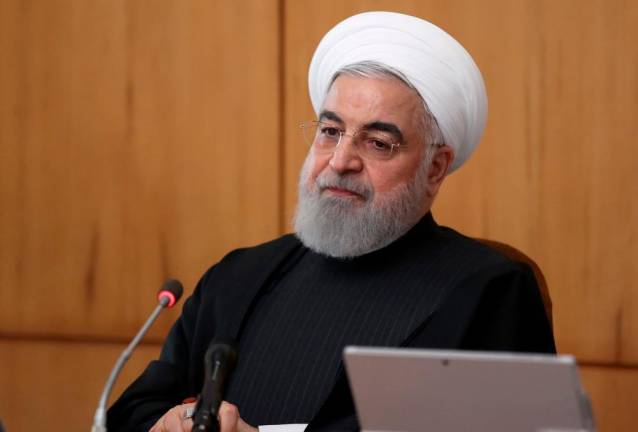 Iran's Rouhani urges 'unity' after plane protests