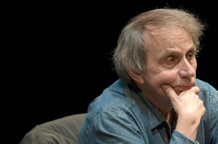 Houellebecq's last book 'Submission' envisioned a France subject to sharia law after electing a Muslim president. — AFP