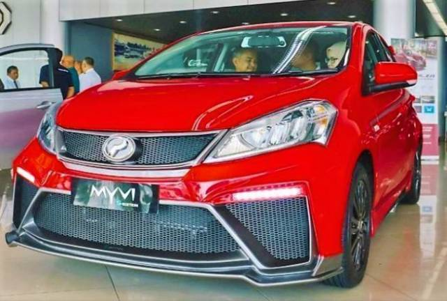 'S-Edition' Myvi by Brunei Perodua distributor not official Perodua variant