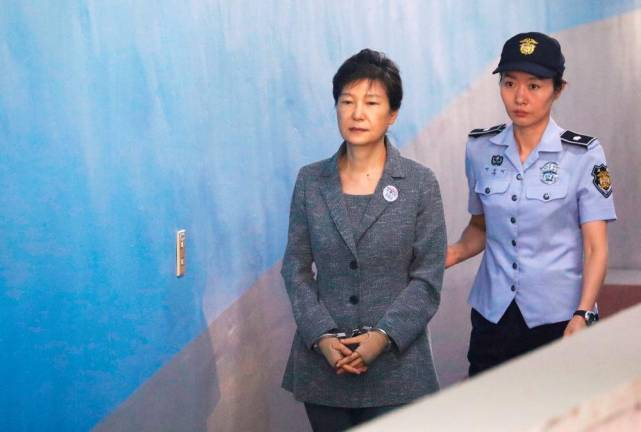 South Korea upholds jail for ex-president Park