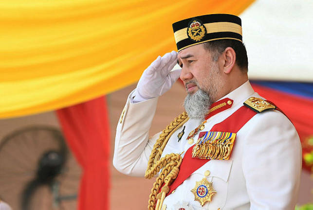 Image result for agong resigns