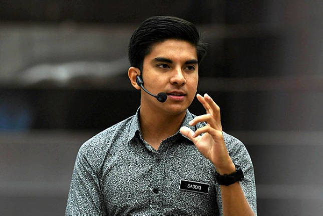 Syed Saddiq denies creating provocation on nomination for Semenyih by-election