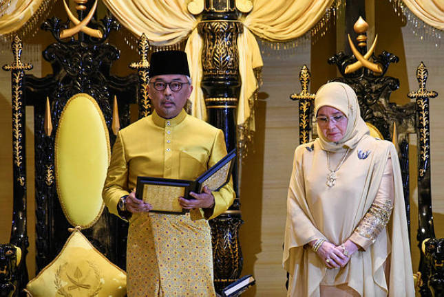 Sultan Abdullah gets misty-eyed, thinking of his beloved parents