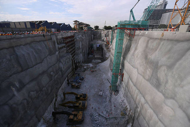SSP MRT line 41% done: MRT Corp