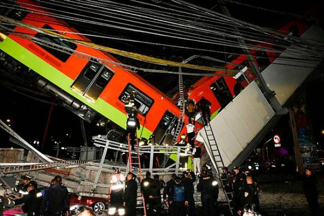 Mexico president vows full probe after 24 die in metro accident