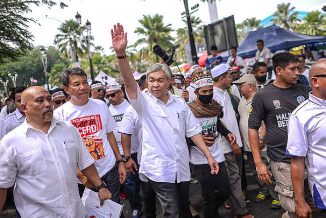 Malays must unite for race and religion, says Ahmad Zahid