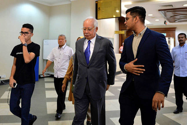 Money laundering: Najib maintains not guilty plea (Updated)