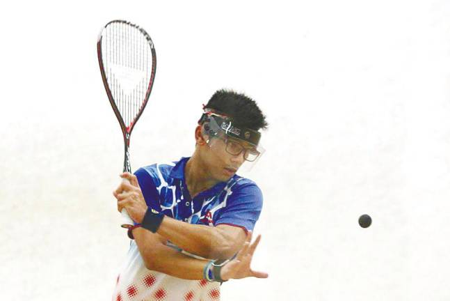 Swinging for squash success