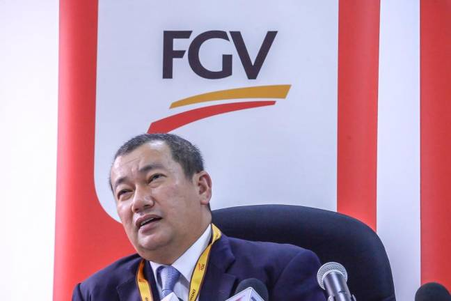 FGV on track to achieve operational targets