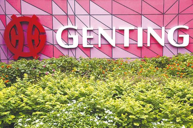 Genting Bhd incurs RM130.75 million net loss for third quarter