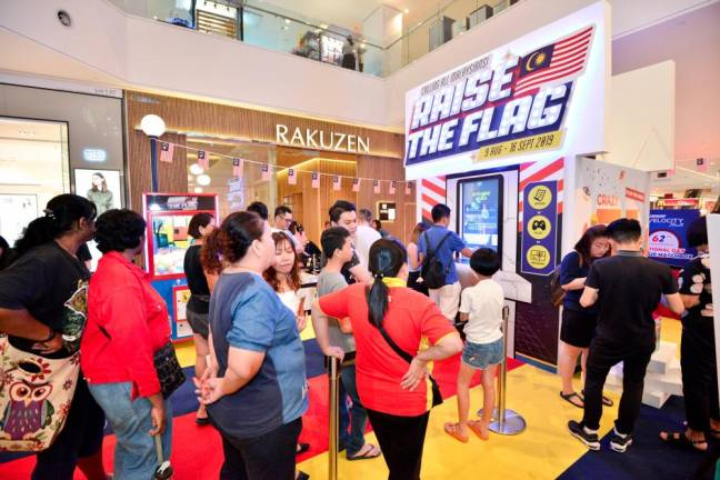 Raise the flag with Sunway Velocity Mall