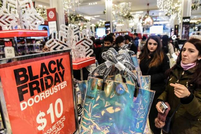 US Black Friday shoppers stay away from stores, make US$7b-plus splurge online