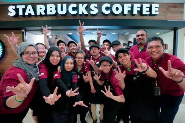 Silence brews success at Starbucks