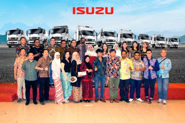 Isuzu commercial vehicles No 1 in Malaysia