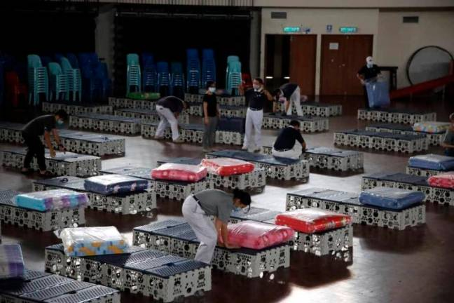 Taiwanese Tzu Chi donated millions and thousands of beds for Sabah hospitals