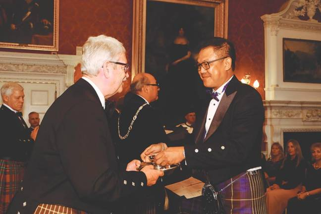 Luen Heng's Soh bestowed Keeper of Quaich title