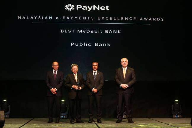 Public Bank wins four awards for outstanding e-payment ecosystem