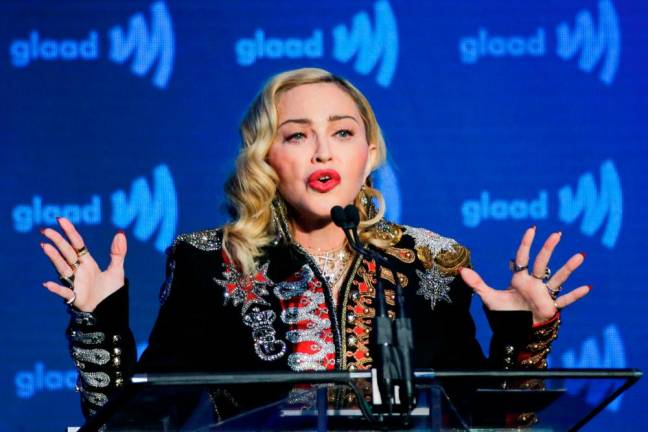 Madonna takes on frightening world with new album 'Madame X'