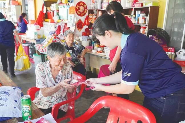 Bringing the festive 'huat' to senior citizens