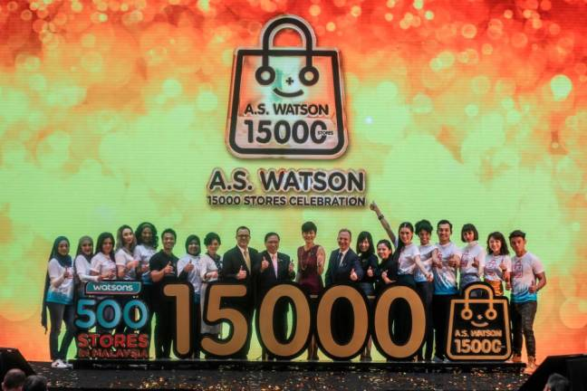 Watsons Malaysia opens 500th store in Shah Alam