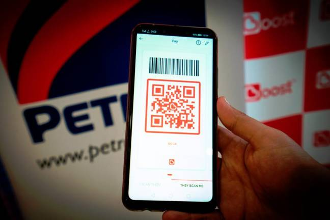 Boost e-wallet accepted at Petron