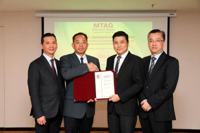 MTAG inks underwriting agreement with M&A Securities
