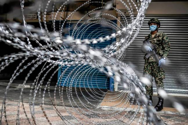 KUALA LUMPUR: From 22 March, the Malaysian Armed Forces (ATM) had deployed approximately 7,000 military personnel to assist PDRM's MCO operations in the second phase of the MCO dubbed as the Enhanced Movement Control Order (EMCO).