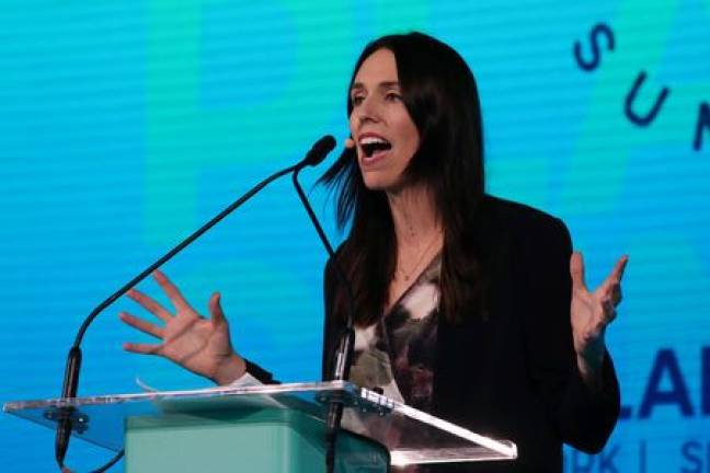 Support for NZ PM Ardern's Labour party surges in poll
