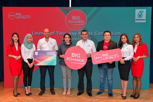 AirAsia launches two-way points conversion with Petronas