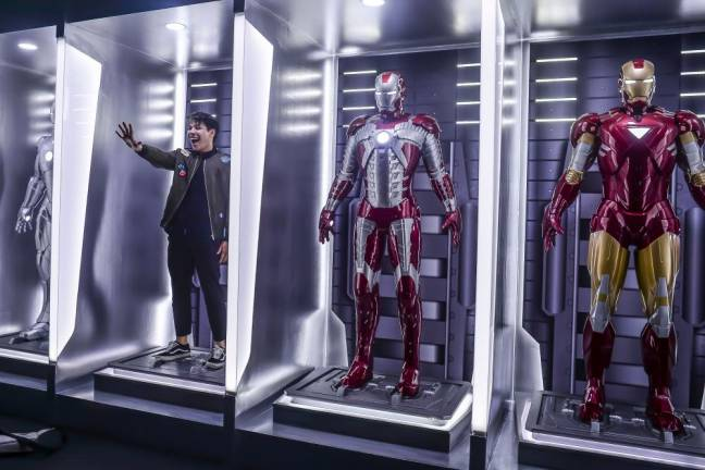 Be a part of Iron Man's Hall of Armours. SUNPIX BY ADIB RAWI
