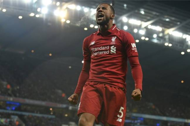 Liverpool's improvement is clear to see, says Wijnaldum