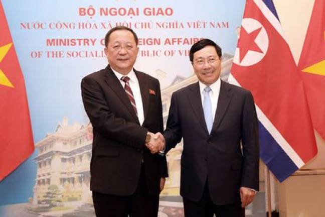 Vietnam foreign minister to visit N. Korea from Feb 12 to 14