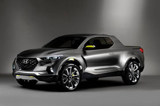 Hyundai concept truck in production in 2020