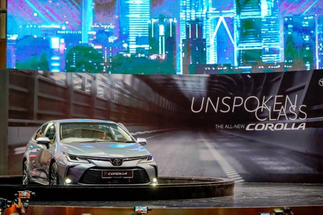 12-generation Toyota Corolla launched