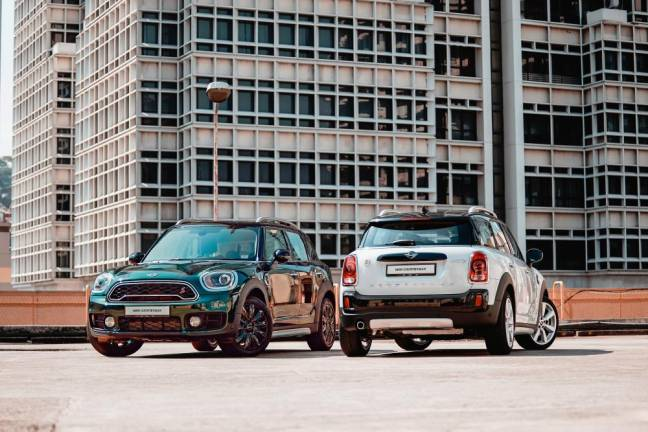 New MINI Countryman Plug-In Hybrid Wired, MINI Cooper S Countryman Pure introduced
