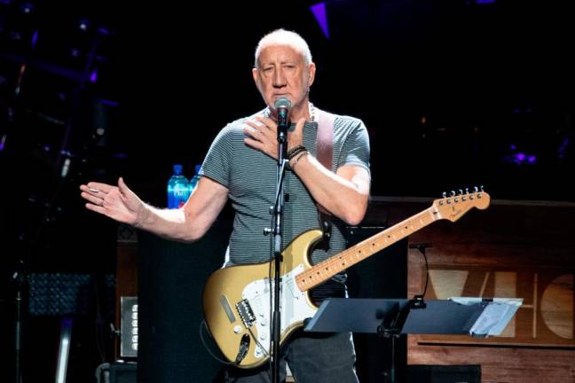 The Who's Pete Townshend launches first novel