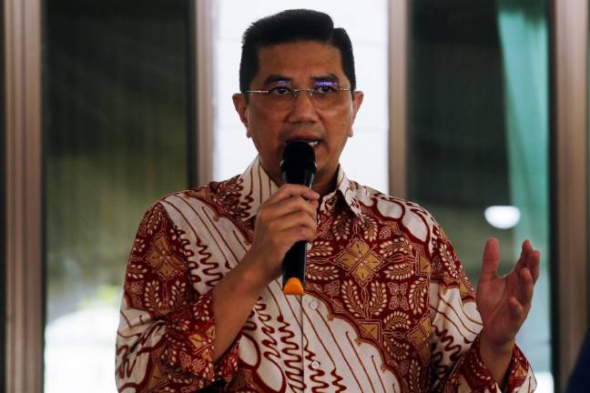 Avoid too much politics, advises Azmin Ali